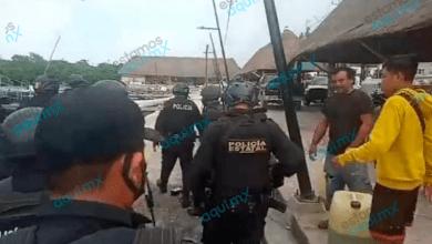 Foto de Operativo de vigilancia y revisión en el Mercado 7 de Agosto, en Campeche