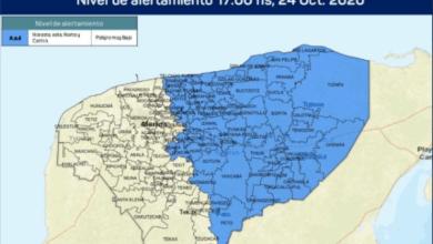 Foto de Alerta azul para el oriente de Yucatán