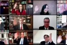 Foto de …Y sobre la pregunta que se hará en la consulta, ministros dicen SÍ por unanimidad, incluido Aguilar