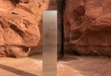 Foto de Misterioso monolito derribado por hombres que no querían dejar rastro