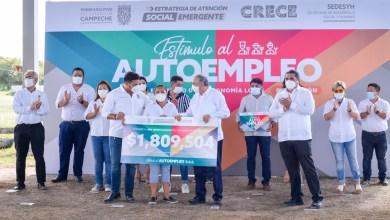 Foto de Entrega gobernador en Champotón 40 millones en infraestructura, acciones sociales y económicas