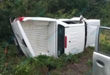 Foto de Volcadura en la Mérida -Valladolid deja un lesionado