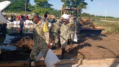 Foto de Entra Ejército con Plan DN-III-E en auxilio de paliceños afectados