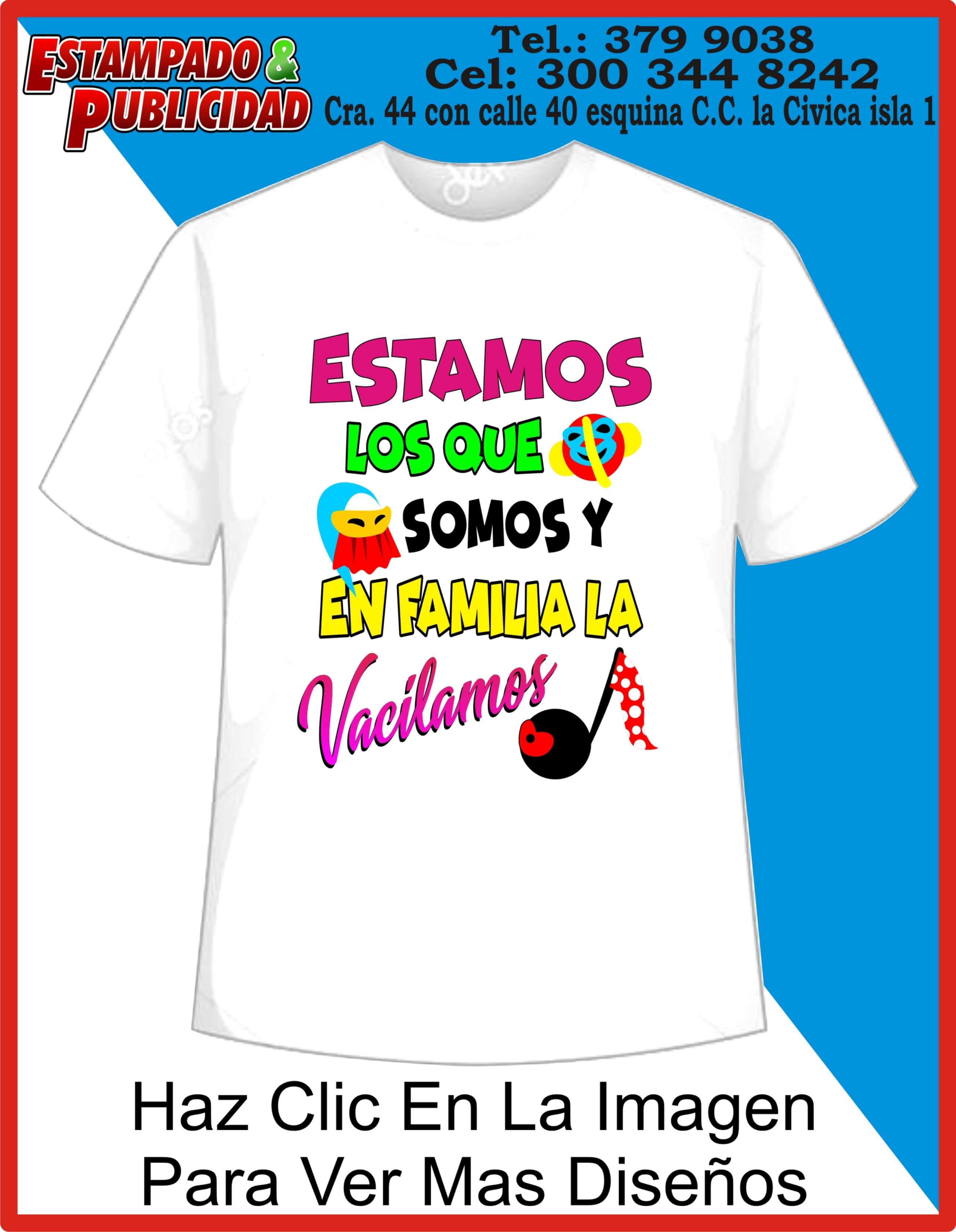 c0e4107d464 Camisas de carnaval 16 - Estampado y Publicidad