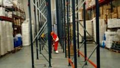 montador de estanterías industriales