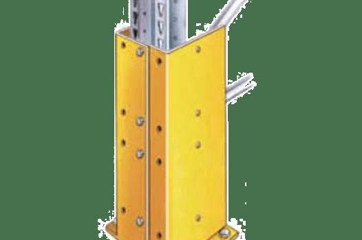 protección estantería industrial