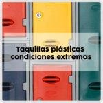 Taquillas plásticas