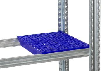 Plasthyllplan blått 300x320/400/500/600mm