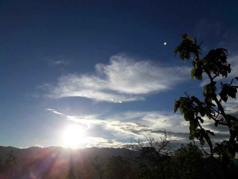 Pai Canyon sunset