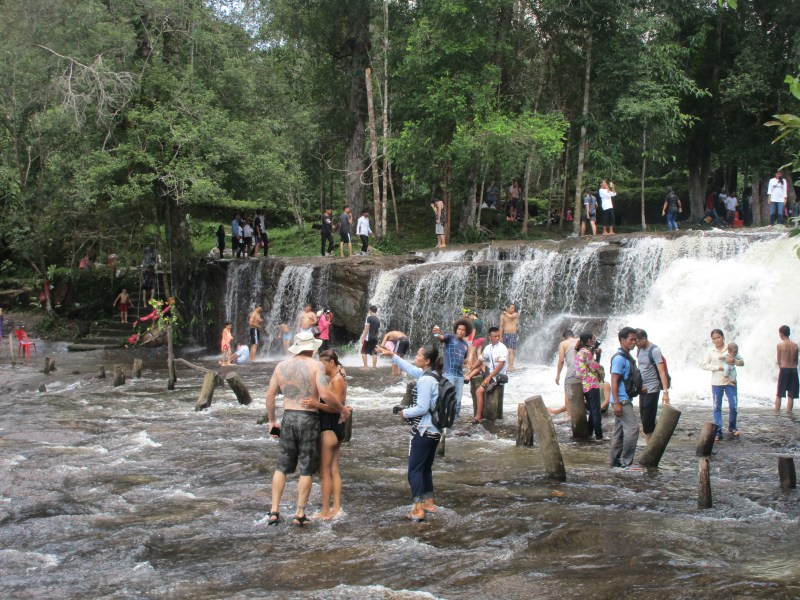 Phnom Koulen Waterfall