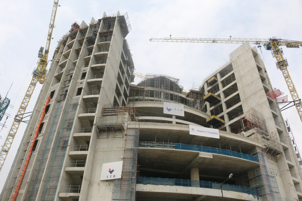 August 2019. Development: Trinity Towers, Chief Yesuf Abiodun Oniru Way, Oniru - Lagos