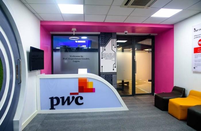 PwC Experience Centre, Victoria Island, Lagos. Source: Spacefinish