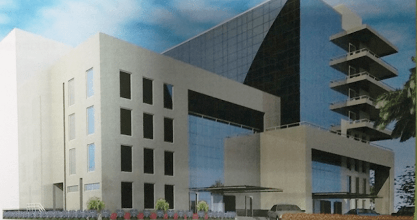 Computer Generated Image (CGI) design for the Nigeria Deposit Insurance Corporation (NDIC) Lekki Training Building, C & I Leasing Drive, off Bisola Durosinmi Etti Drive, Lekki Phase 1, Lagos