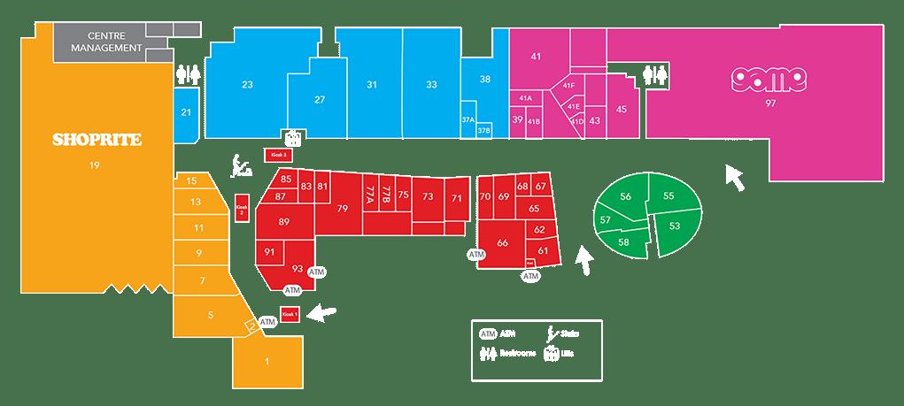 Achimota Mall - Floor Plan