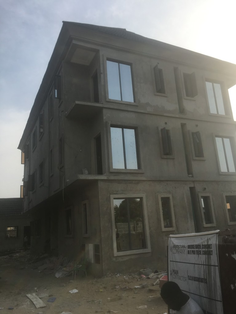 Padroni Di Casa building under construction