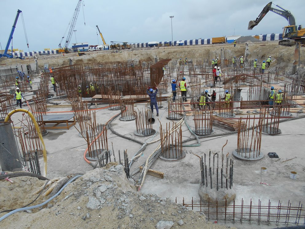 August 2015. Development: The Azuri Peninsula, Eko Atlantic - Lagos. Image Source: Babs Gregory