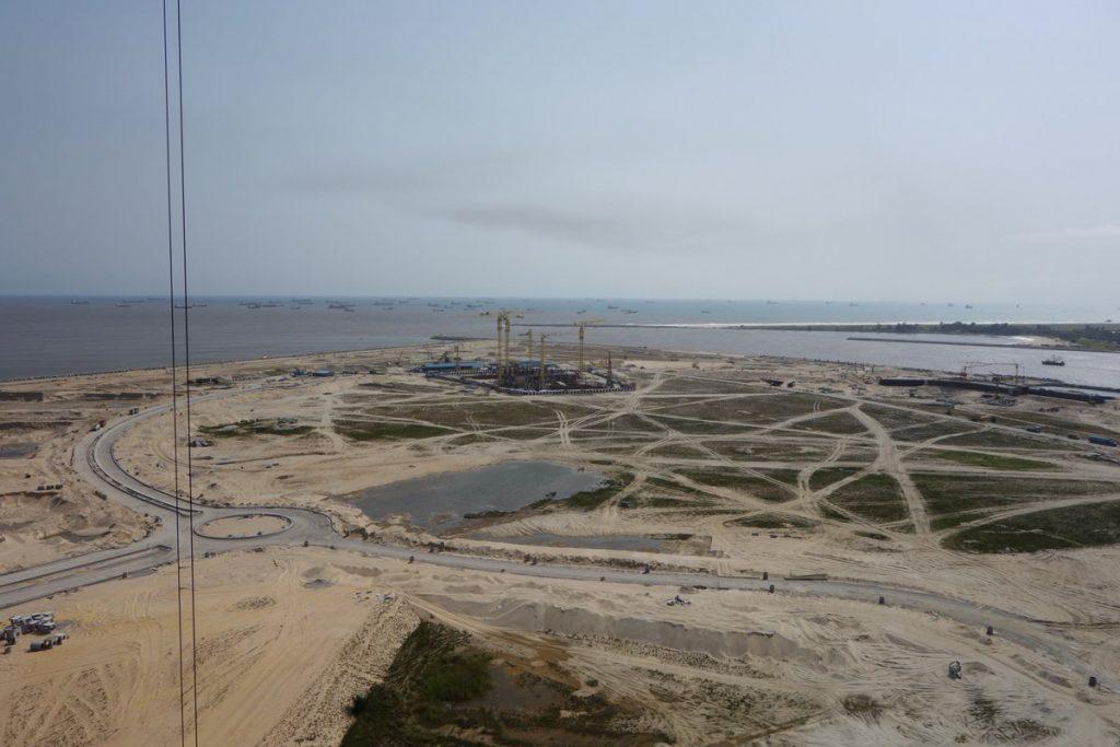 October 2016. Development: The Azuri Peninsula, Eko Atlantic - Lagos. Image Source: Skyscrapercity
