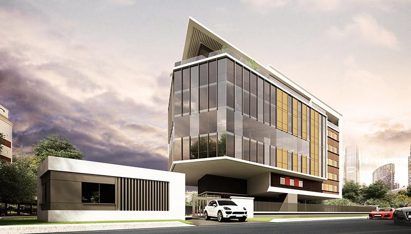 Development: Jenkins Place, Tiamiyu Savage Street, Victoria Island - Lagos. Image Source:  Orangelineddc