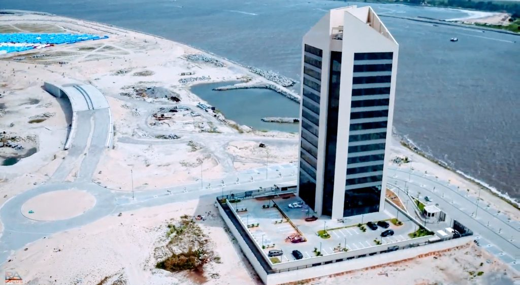 Afren Tower, Eko Atlantic. Image Source: Eko Pearl Towers Blog