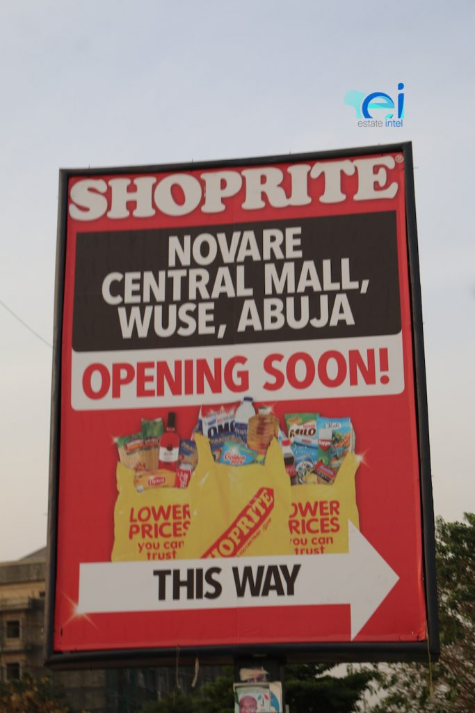 December 2017. Updated - Development: Novare Central, Wuse Zone V - Abuja