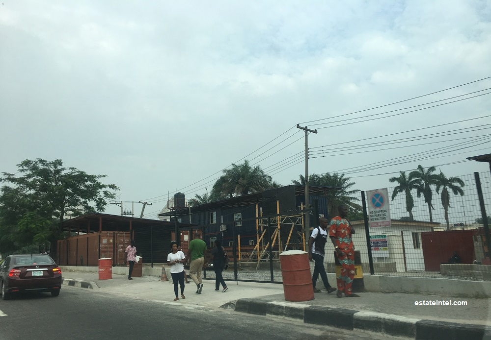 August 2018. Dangote Industries Limited Head Office, Alfred Rewane Road (Kingsway Road), Ikoyi