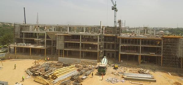 H2 2017. Updated - Development: Novare Central, Wuse Zone V - Abuja. Image Source: Novare