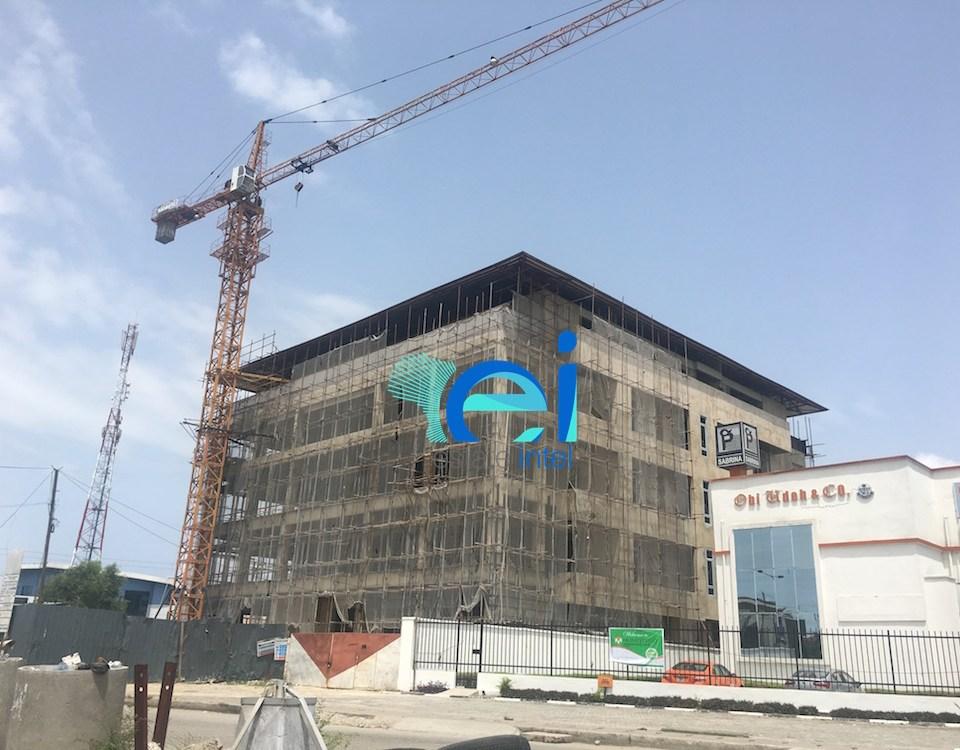 April 2017. Updated: Development: Commercial Building, Lekki Phase 1 - Lagos