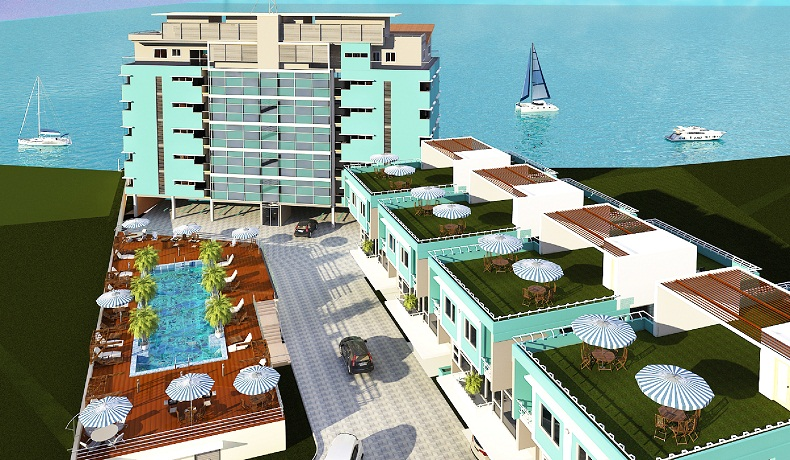 Admiralty Heights, Admiralty Road. Lekki Phase 1. Image source: Fivecowrie condos