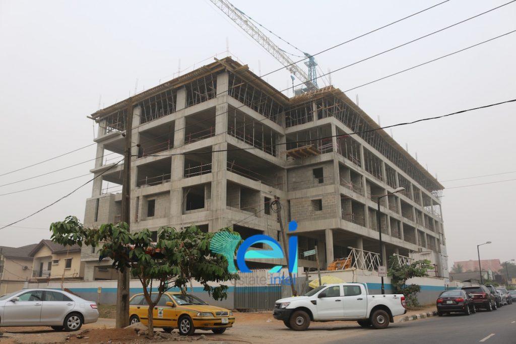 December 2016. Development: Duchess Hospital, Joel Ogunnaike Street, Ikeja GRA - Lagos