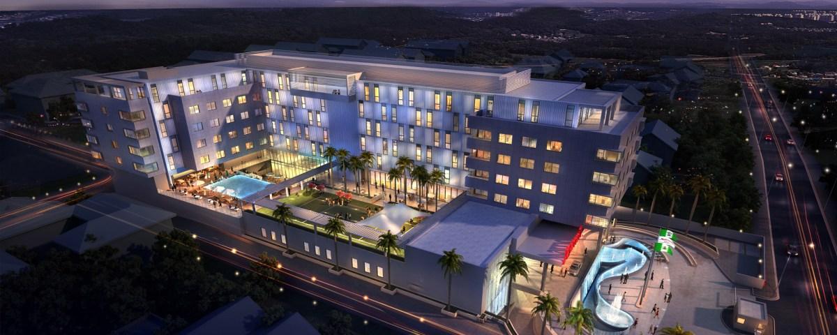 Marriott Hotel, Ikeja GRA (Bordered by Joel Ogunnaike Street and Oba Adejobi Street).