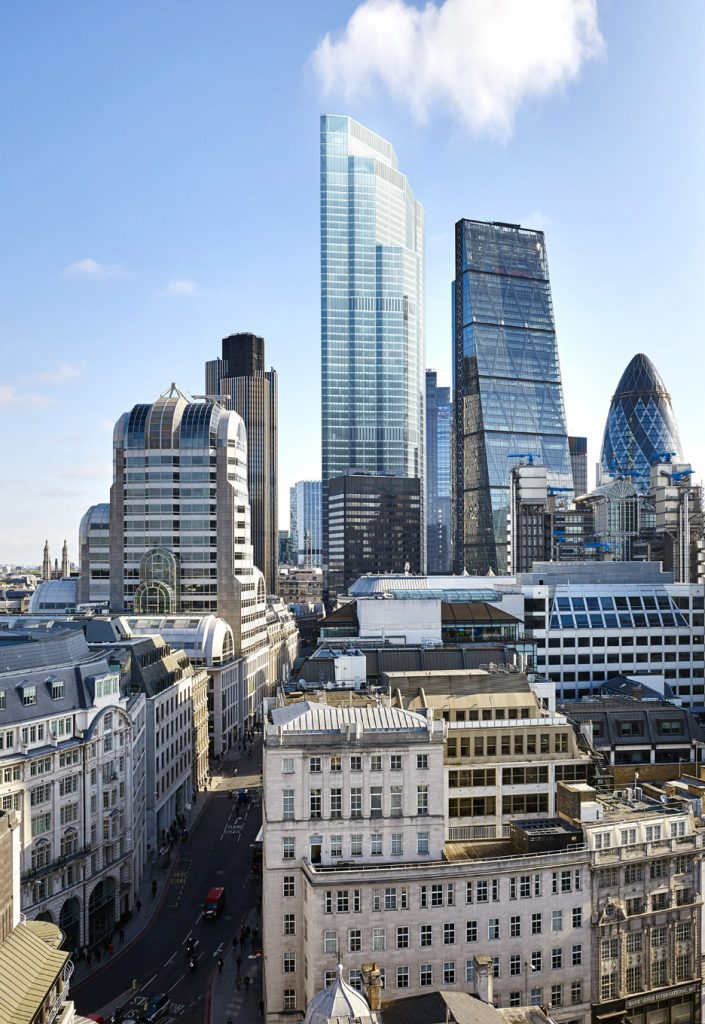City of London's Tallest Tower (22 Bishopsgate) gets the Green Light. Image Source: at22.co.uk