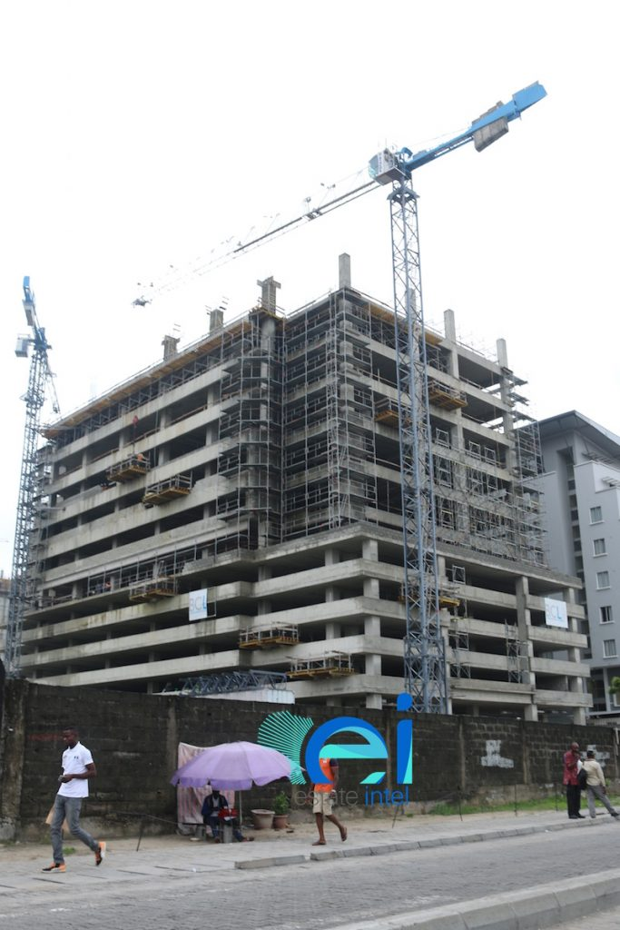 July 2017. Updated - Development: Cornerstone HQ, Victoria Island Annex (Oniru) - Lagos