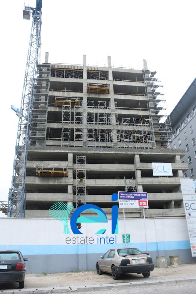 July 2017. Updated - Development: Cornerstone HQ, Victoria Island Annex (Oniru) - Lagos