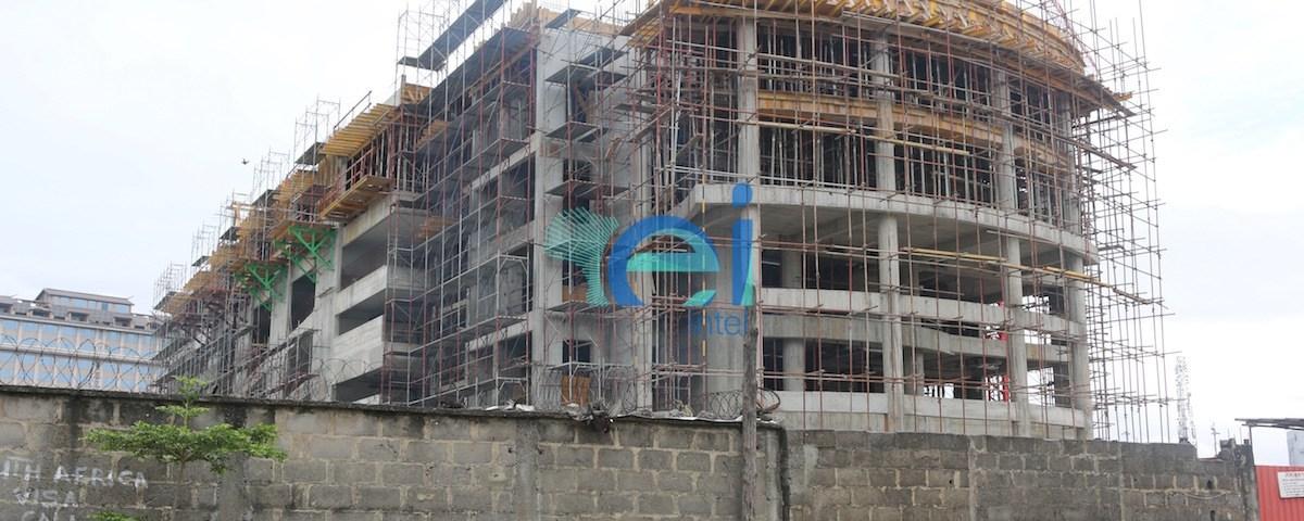 Diamond Bank Office Development, Victoria Island Annex (Oniru), Lagos - Nigeria. October 2016