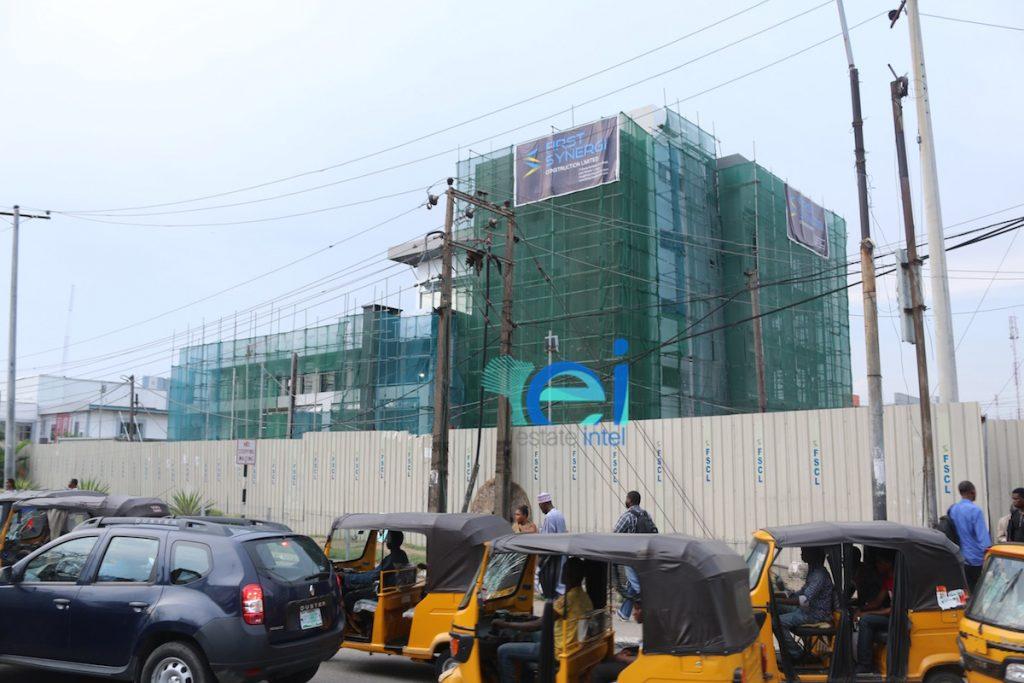 October 2016. Development: Providus Bank HQ, Adetokunbo Ademola Street ('Eko Hotel Roundabout'), Victoria Island - Lagos.