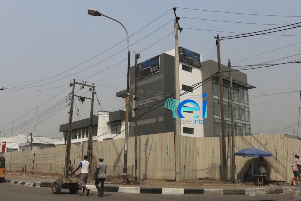 January 2017. Development: Providus Bank HQ, Adetokunbo Ademola Street ('Eko Hotel Roundabout'), Victoria Island - Lagos.