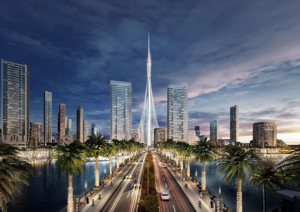 The Tower, Dubai Creek Harbour. Image Source: Emaar