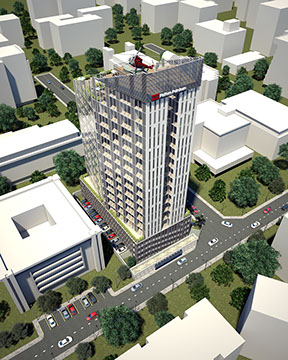 Development: Greystone Tower, Victoria Island - Lagos. Image Source: Majoroh.