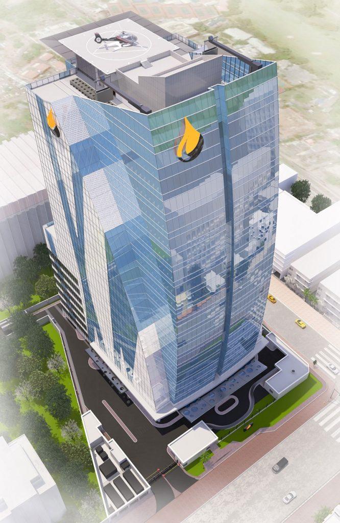 Development: Famfa Oil Tower, Corner of Alfred Rewane (Kingsway) Road and Olawole Dawodu, Ikoyi - Lagos