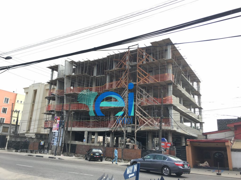 December 2016. Development: 5 Floor Office Development, Awolowo Road, Ikoyi