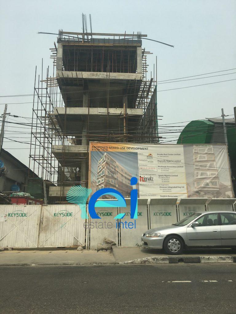 February 2017. Development: Ogun House, Awolowo Road, Ikoyi - Lagos