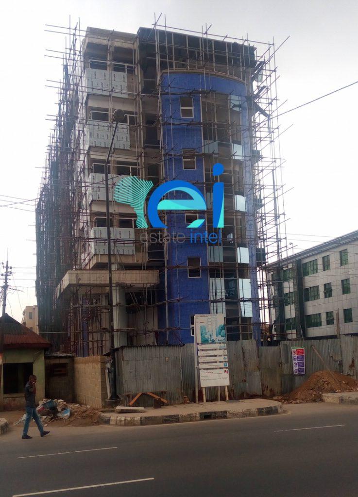 February 2017. Development: Office Development, Murtala Mohammed Way, Yaba - Lagos