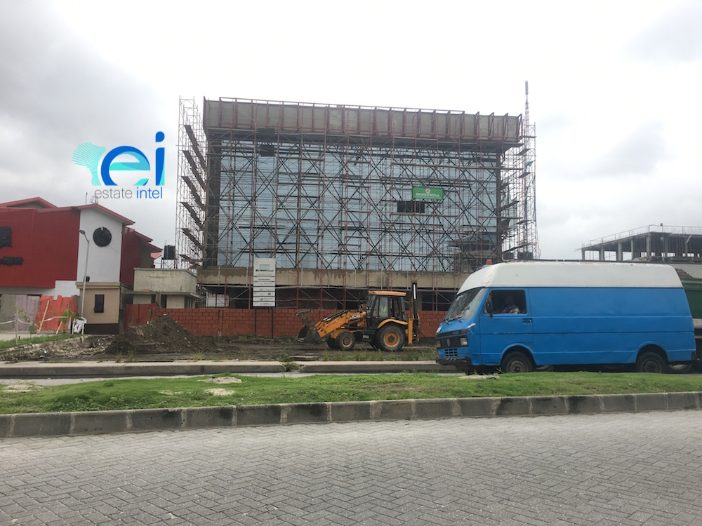 August 2017. Updated - Development: GTBank Branch, Admiralty Way, Lekki Phase 1, Lekki - Lagos