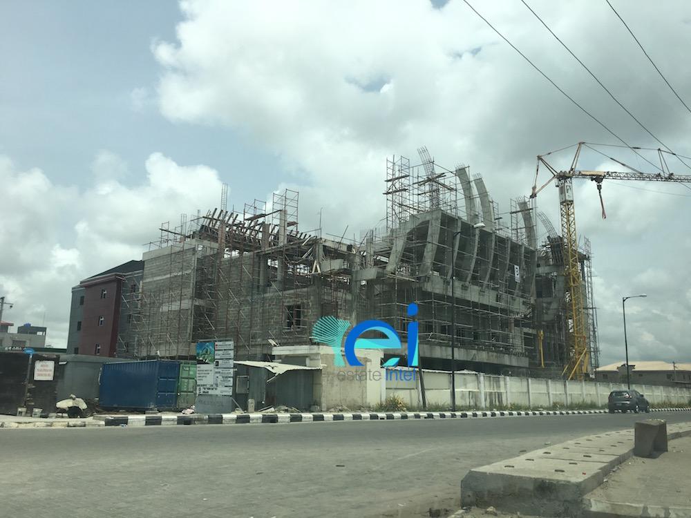 March 2017.  Development: New Dawn Baptist Church, Oniru - Lagos
