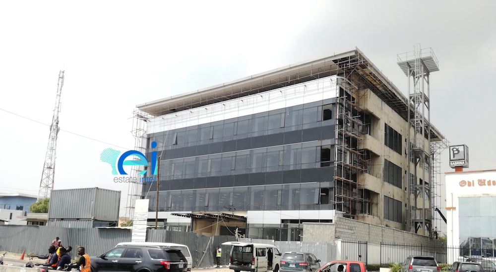 January 2018. Updated - Development: Commercial Building, Lekki Phase 1 - Lagos