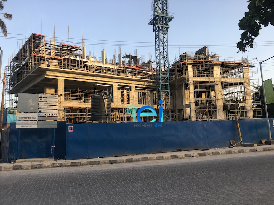 April 2017. Development: Hotel Project, Corner of Ojora and Onitolo Road, Ikoyi - LagosView from Wheatbaker Hotel. Development: Hotel Project, Corner of Ojora and Onitolo Road, Ikoyi - Lagos
