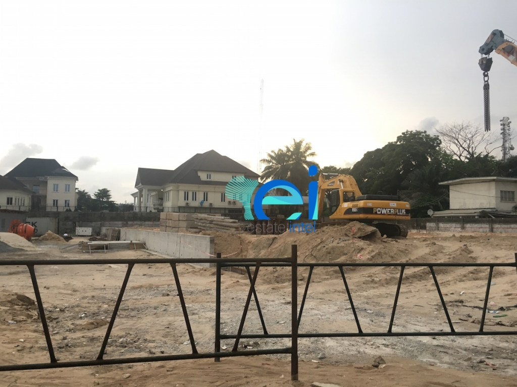 April 2017. Development: Residential Project, Ojora Road, Ikoyi - Lagos