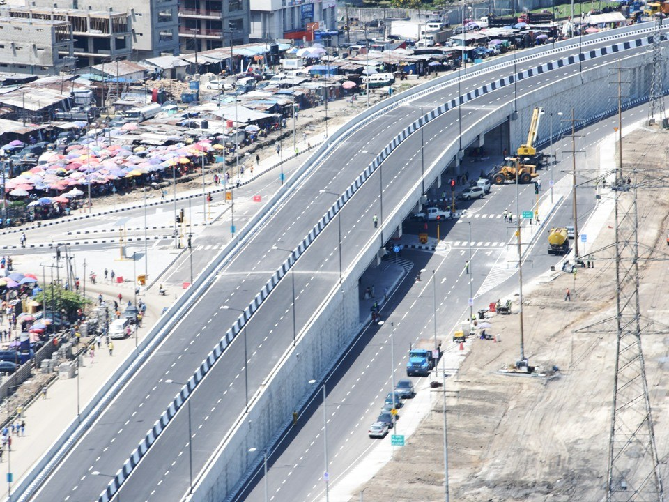 Ajah Flyover Bridge. Image Source: Lagos State
