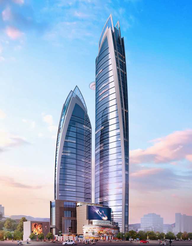 Construction Starts at 45 Floor Hilton in Upper Hill Nairobi. Image Source: meinhardtgroup