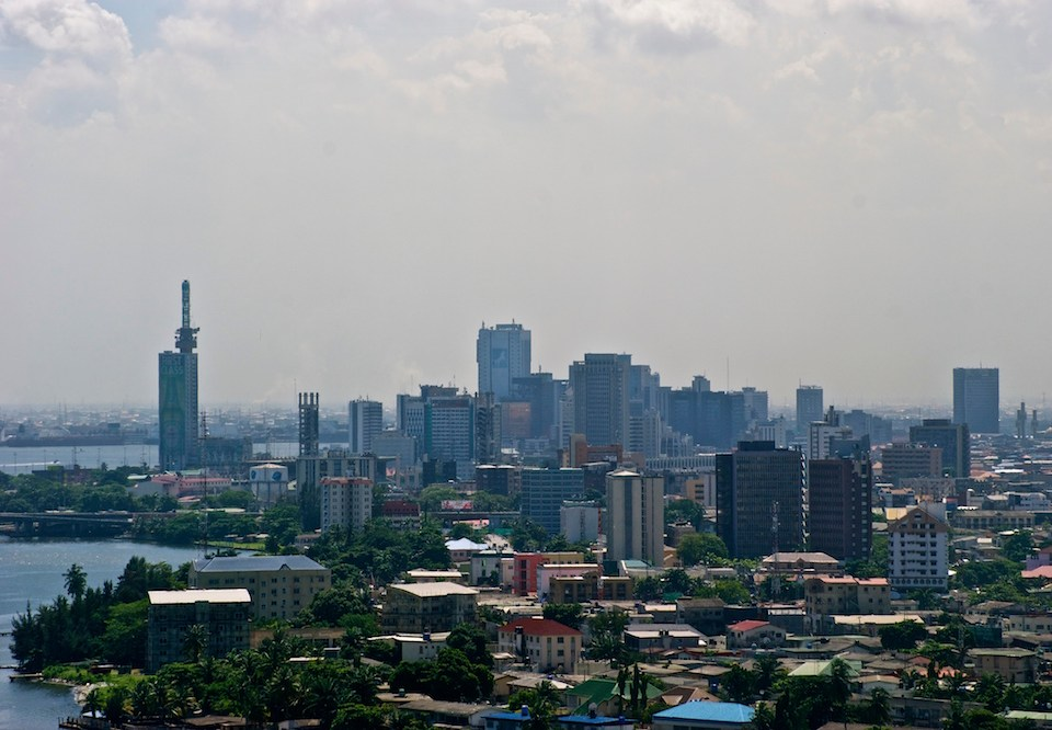Lagos Skyline. Instagram: images by omidire